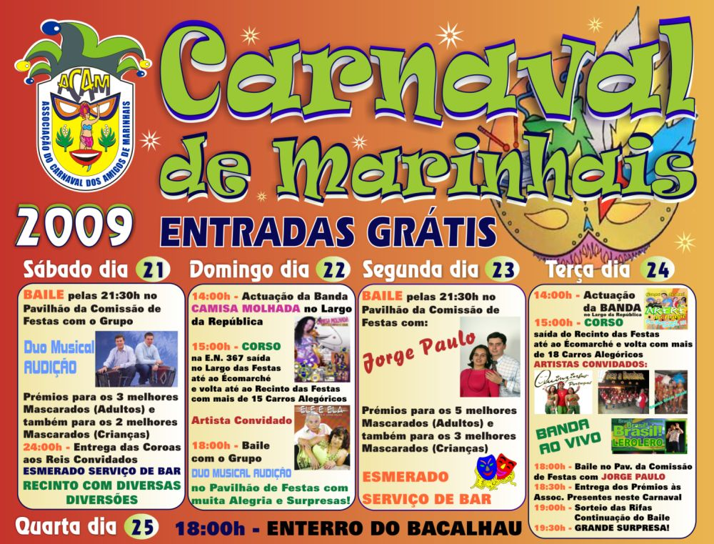 Carnaval de Marinhais 2009