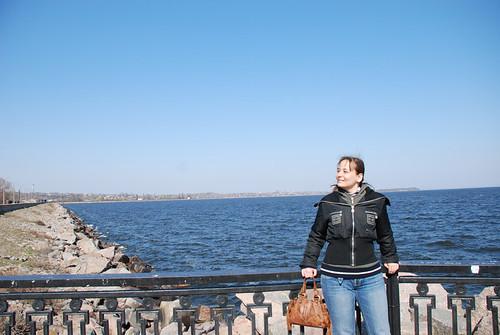 Татка на Каховском море