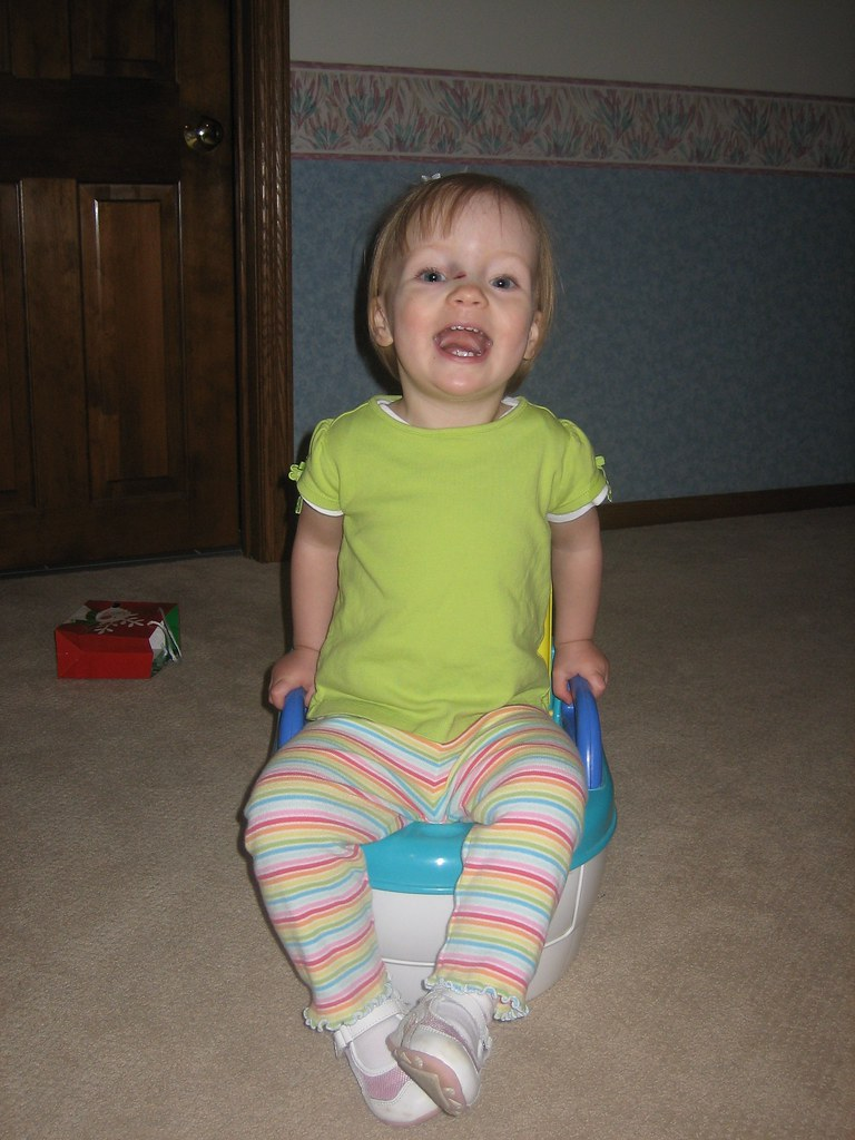 Playing on Potty