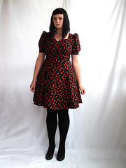 cherries dress