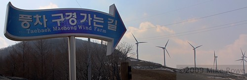 Ridge of the Wind - Taebaek Windmills