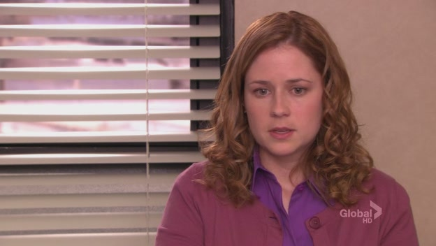 Pam desanimada?