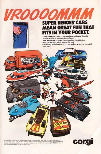 Corgi Super Hero cars