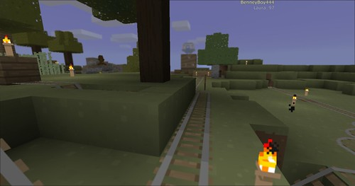 Minecraft - Rollercoaster 6