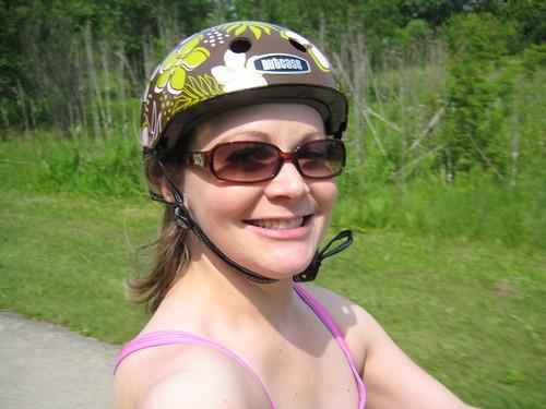 biking, nutcase helmet