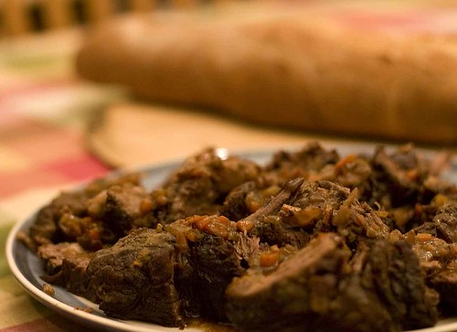 Italian Beef Braised in Red Wine