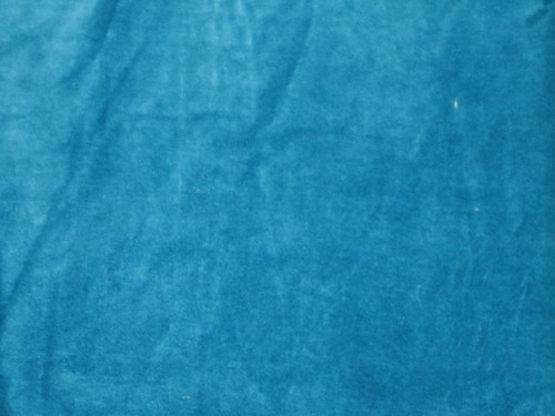 100 Cotton Velvet Fabric 44 Quot Wide Turquoise Blue Colour