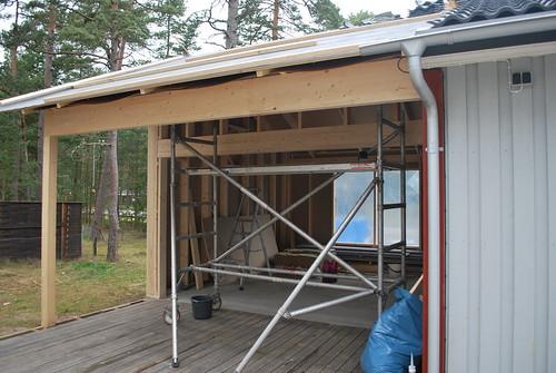 Extension under construction