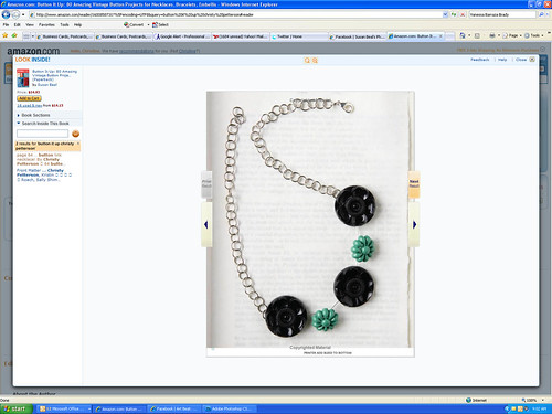 Button It Up - Necklace by Me!