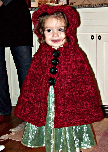 Toddlers Hooded Cape