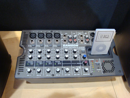 Samson Expedition XP308i Portable PA System Audio Mixer