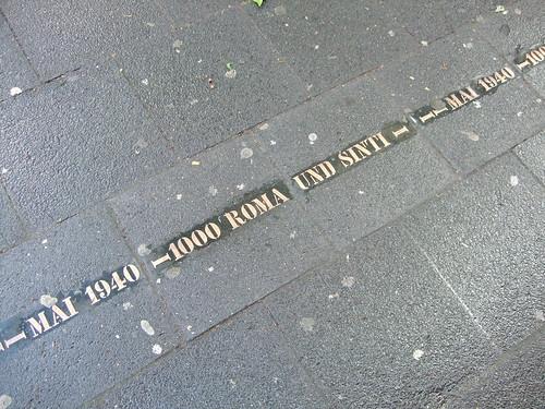 Roma memorial, Cologne