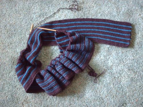 Pinstripe TenScarf II