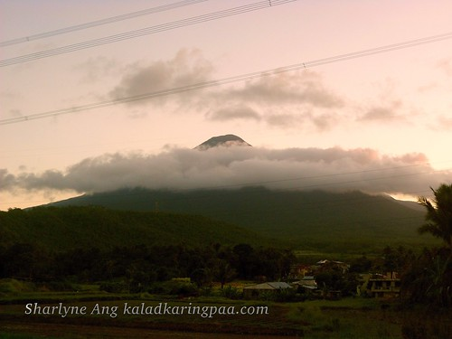 Sunset in Banahaw