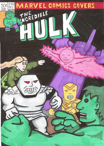 Feb 09 Sketch a Day hulk# 254 - X-Ray
