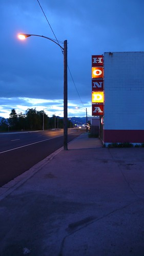 3 AM twilight, Glenn Highway.
