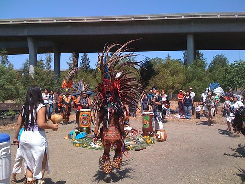 Aztec Ritual At Veggielution Farm