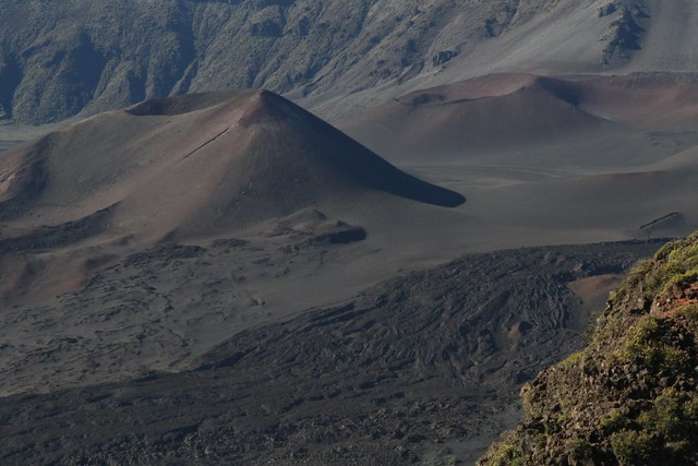 Cinder Cones and Lava Flow