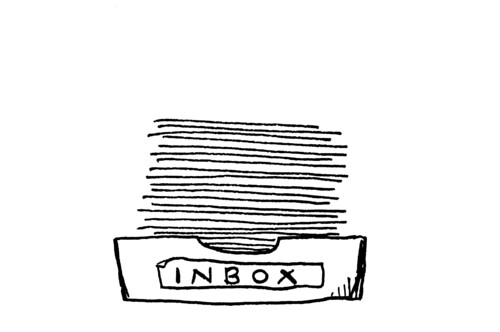 Inbox Art by 10ch.
