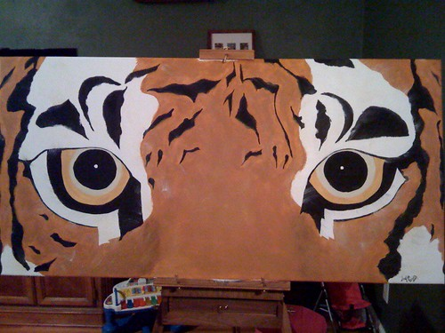 tiger eyes by you.
