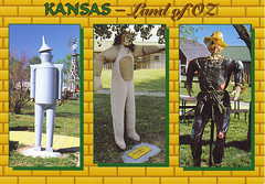 Land of Oz postcard