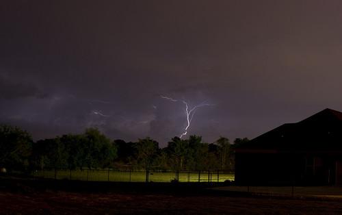 Lightning Over Meridianville, Alabama