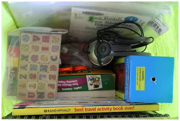 Mama-daughter road trip supplies