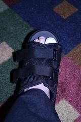 toe in boot