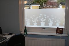 Kontorsfönstret efter