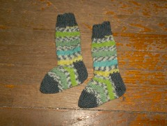 Spring Stripe Baby Socks