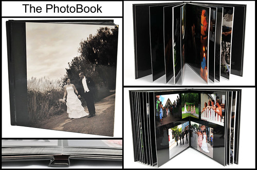 The PhotoBook is a less expensive alternative to show case weddings and portraits while still maintaining a very posh look.