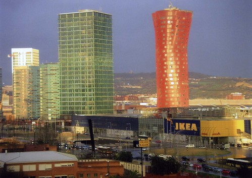 Plaza Europa vista desde el Gornal
