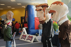 The Washington Nationals Racing Presidents at NatsFest