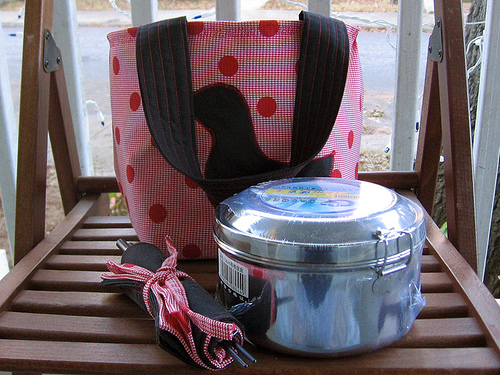 My lunch kit by Glue & Glitter