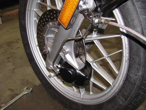 Disk Brake & New Brake Line