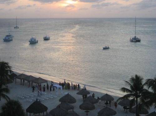 Sunset Palm Beach Aruba