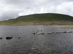 Burnmoor tarn - lunch spot