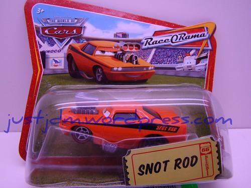 CARS short card snot rod