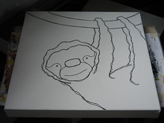work in progress 20090505 sloth C