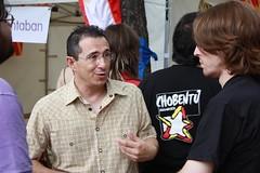 Martínez Tomey con los jóvenes