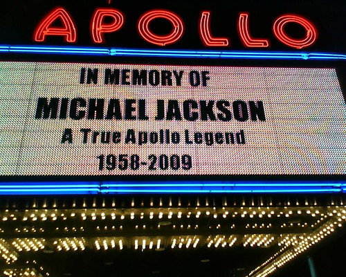 Apollo Marquee - Michael Jackson