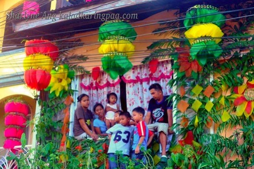Decorated Houses During Pahiyas Festival