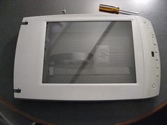Scanner prior to teardown