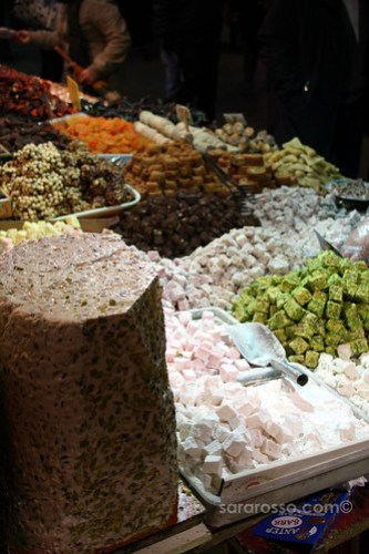 Turkish Delight, lokum, or loukoum, Spice Bazaar, Istanbul