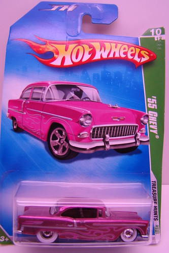 Hot Wheels Super Treasure Hunt 55 chevy