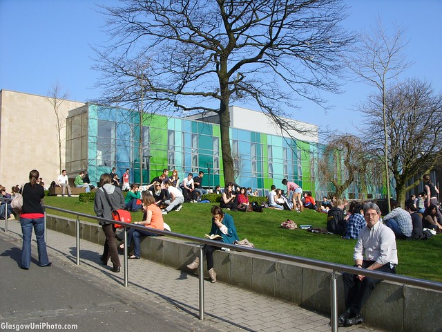 Students in the Sun