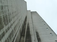 grim building