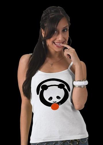 PAN-TASIA panda camisole by Sandra Miller 2009