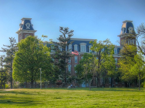 Old Main, University of Arkansas by Don J Schulte, on Flickr