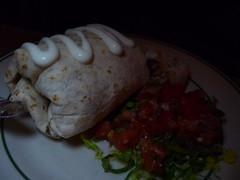 Chicken Burrito at Bonita